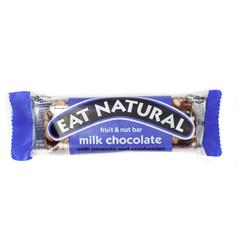 Eat Natural Essen Sie natürliche Erdnuss-Cranberry-Cashew-Macadamia-Schokolade 45 Gramm