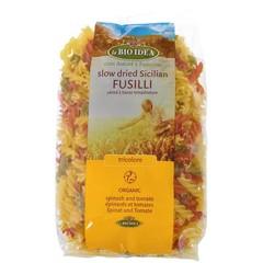 Bioidea Fusilli Tricolore Spirelli 500 Gramm