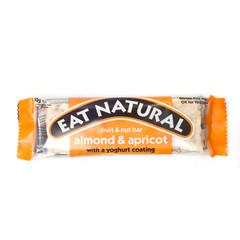 Eat Natural Essen Sie natürlichen Mandel-Aprikosen-Joghurt 50 Gramm