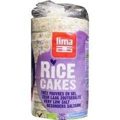 Lima Reiswaffeln ohne Salzzusatz 100 Gramm