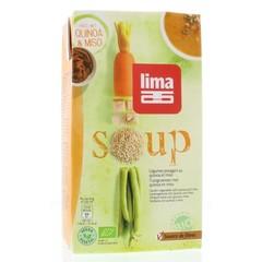 Limasuppe mit Gartengemüse / Quinoa 1 Liter