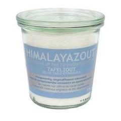 Esspo Himalaya-Salz Tafelsalz weiß feines Glas 275 Gramm