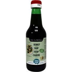 Terrasana Rohes Hanföl kalt gepresst in 250 ml Glas