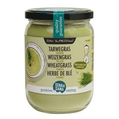 Terrasana Rohes Weizengraspulver im Glas 130 Gramm