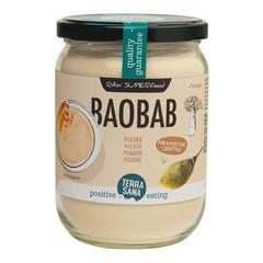 Terrasana Raw Baobab Pulver in Glas 190 Gramm