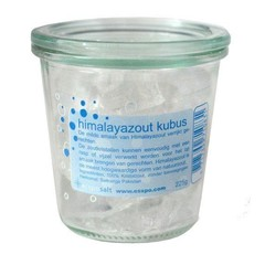 Esspo Himalaya Salzwürfel Raspelkristalle 225 Gramm