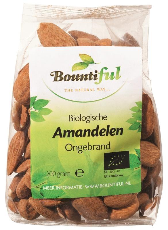 Bountiful Bountiful Reichhaltige Mandeln ungeröstet 200 Gramm