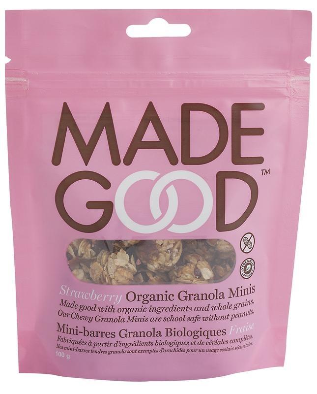 Made Good Made Good Gutes Müsli Minis Erdbeere 100 Gramm