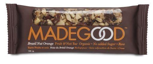 Made Good Made Good Fruit & Nussriegel Rohbrasilien Orange 36 Gramm