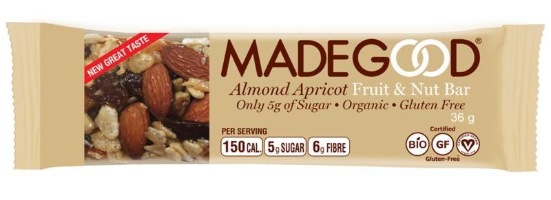 Made Good Made Good Fruit & Nussriegel Rohmandel Aprikose 36 Gramm