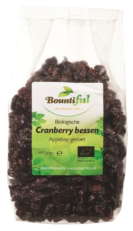 Bountiful Bountiful Reichhaltige Cranberry Beeren Bio 400 Gramm