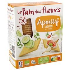 Pain Des Fleurs Aperitif Cracker Zwiebel 150 Gramm