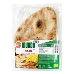 O Mundo Naan Brot natürlich 240 Gramm
