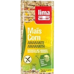 Lima Corn Waffel Amaranth dünn 130 Gramm