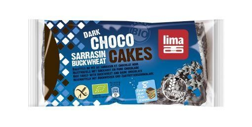 Lima Lima Reiswaffel Buchweizen Bitterschokolade 90 Gramm