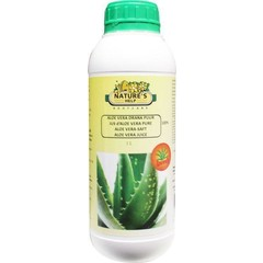 Natures Help Aloe Vera Drink pur 1 Liter
