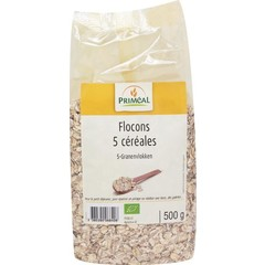 Primeal Cerealien 5 Flocken 500 Gramm