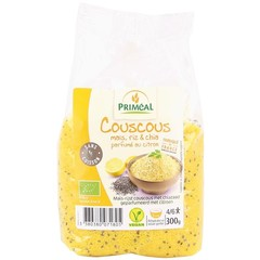 Primeal Couscous Mais Reis und Chia Zitrone 300 Gramm