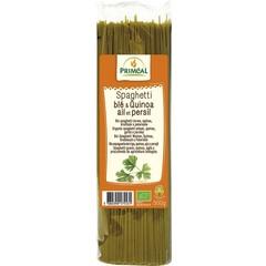 Primeal Bio Spaghetti Weizen Quinoa Knoblauch Petersilie 500 Gramm