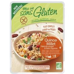 Ma Vie Sans Quinoa Hirse rote Bohnen Gemüse 220 Gramm