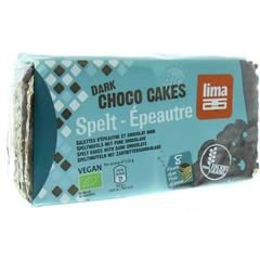 Lima Dinkel dunkle Schokoladenwaffeln 90 Gramm