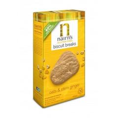 Nairns Biscuit bricht Ingwer 160 Gramm