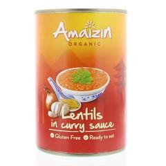 Amaizin Linsen in Currysoße 420 Gramm