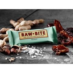 Rawbite Erdnuss 50 Gramm