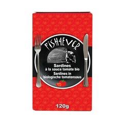 Fish 4 Ever Fisch 4 Ever Sardinen in Tomatensauce 120 Gramm