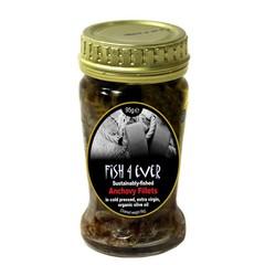 Fish 4 Ever Fisch 4 Ever Sardellenfilet in Olivenöl 95 Gramm