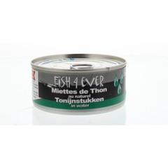 Fish 4 Ever Fischen Sie 4 Stück Thunfisch in 160 Gramm Wasser