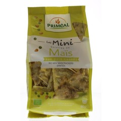 Primeal Bio-Mini-Mais-Cracker mit 90 Gramm Erbsen