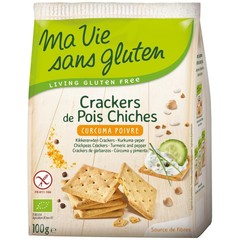 Ma Vie Sans Crackers Erbse Curcuma Pfeffer 100 Gramm