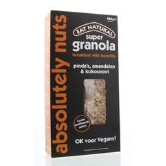 Eat Natural Essen Sie natürliches Supergranola absolut Nüsse 425 Gramm