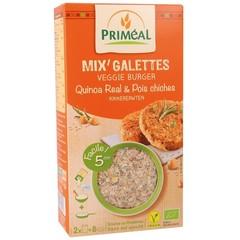 Primeal Quinoa Burger Kichererbsen 250 Gramm