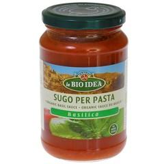 Bioidea Pasta Sauce Basilikum 340 Gramm