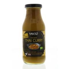 Yakso Wok Sauce Curry 240 ml