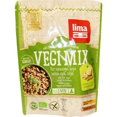 Lima Vegi Mix Wildreis Soja Ingwer Zitrone 250 Gramm