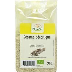 Primeal geschälte Sesamsamen 250 Gramm