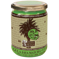 Amanprana Gula Java Matcha + Vitamin D 400 Gramm