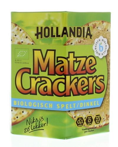 Hollandia Hollandia Matze Cracker Dinkel 100 Gramm