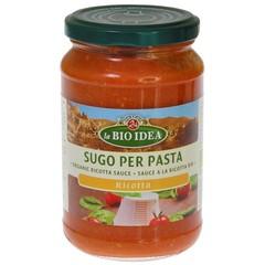 Bioidea Pasta Sauce Ricotta 340 Gramm