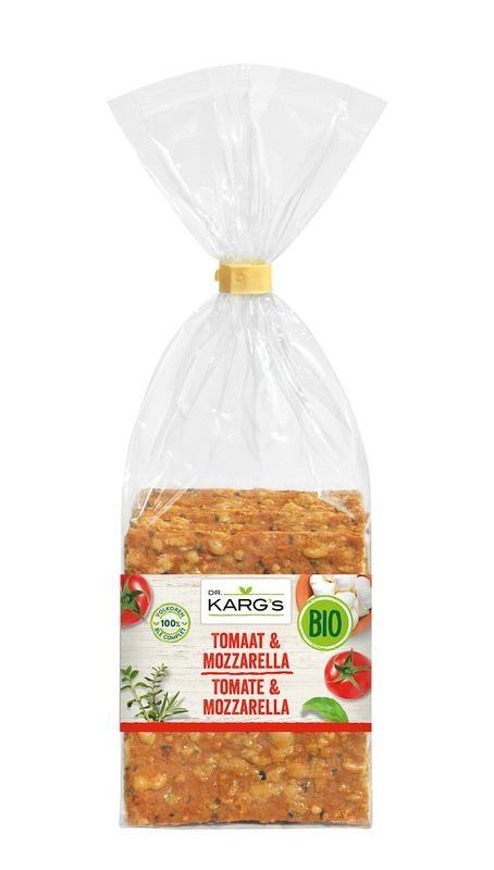 Dr Karg Dr Karg Dr. Karg Crackers Tomaten Mozzarella 200 Gramm