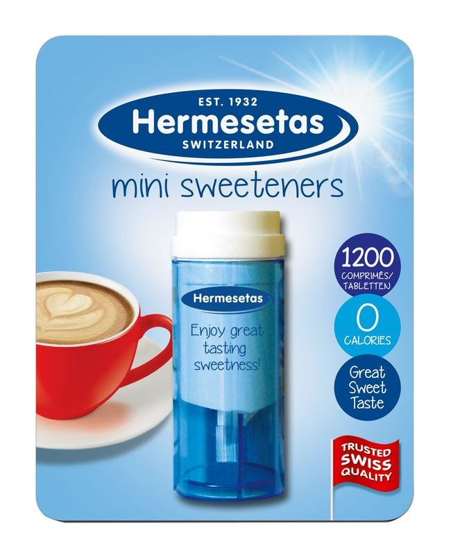 Hermesetas Hermesetas Hermesetas süß 1200 Tabletten