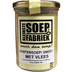 Kleinstesoepfabr Kleine Suppenfabrik Erbsensuppe / Fleisch mit Fleisch 400 Gramm