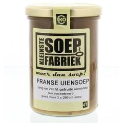 Kleinstesoepfabr Kleine Suppensuppe Französische Zwiebelsuppe vegetarisch 400 Gramm