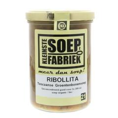 Kleinstesoepfabr Kleiner Suppenhersteller Ribollita toskanische grüne Bohnensuppe Eko 400 Gramm