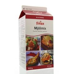 Finax Mjol mix weiße Backmischung Milch 900 Gramm