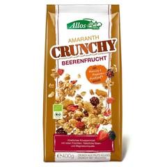 Allos Crunchy Amaranth rote Früchte 400 Gramm