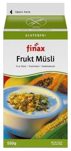 Finax Finax Fruchtmüsli 550 Gramm